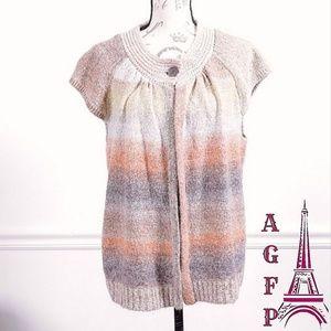 Westbound woman chunky knit cardigan, size 1X